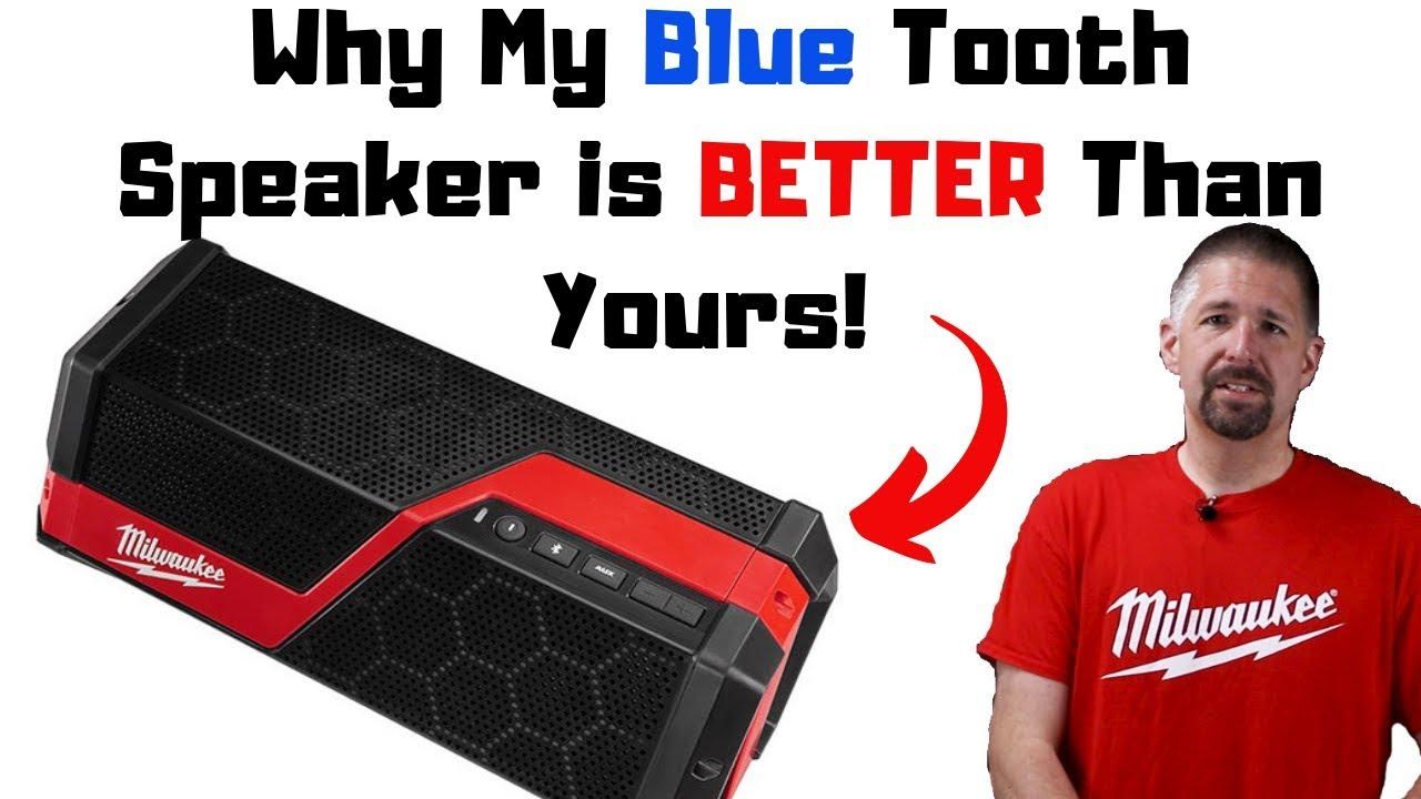 Milwaukee M12JSSP 12v Li-Ion Jobsite Bluetooth Speaker