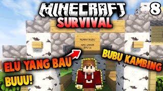 RUMAH KECIL BUBU 😚 - Minecraft SURVIVAL Indonesia #8