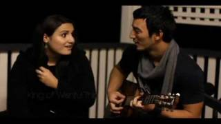 Tessa Power & Adam Kiyuna - King of Wishful Thinking (Acoustic Cover)