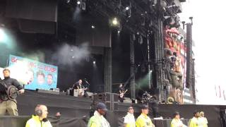BOWLING FOR SOUP - Phineas and Ferb Theme Song live at Download Festival 2014