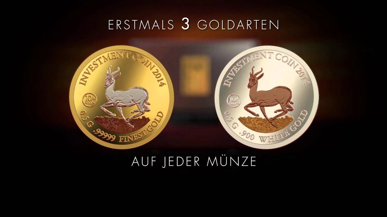 Investment Coin-Set Springbock 2014