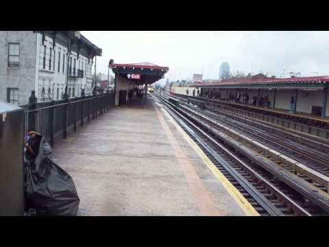 BMT R68/R160 (N) (Q) at Broadway [HD]