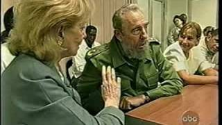 20/20 Fidel Castro interview - Barbara Walters [6of6]