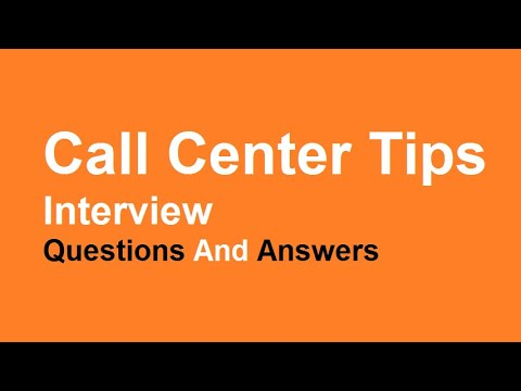 call center tips interview questions and answers - Call Center Interview Questions Answers Tips