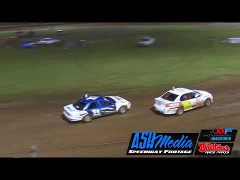 Production Sedans: A-Main - Queensland Title - Kingaroy Speedway - 21.04.18