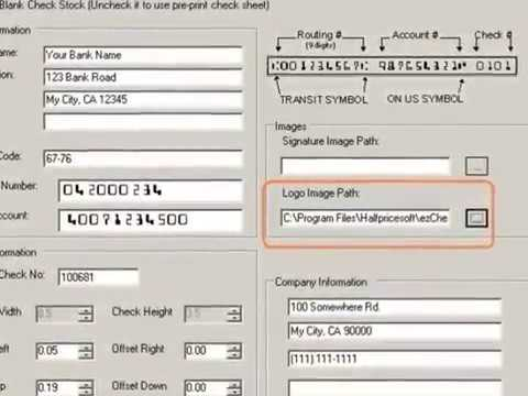 How to Print Quicken Blank Checks