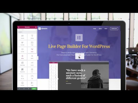 Elementor Page Builder For WordPress - Build Stunning Websites Free & Easy