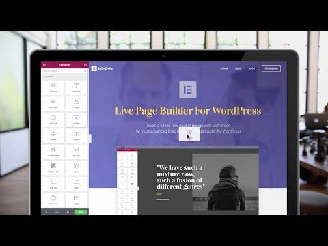 Elementor Website Builder For WordPress - Build Stunning Websites Free & Easy