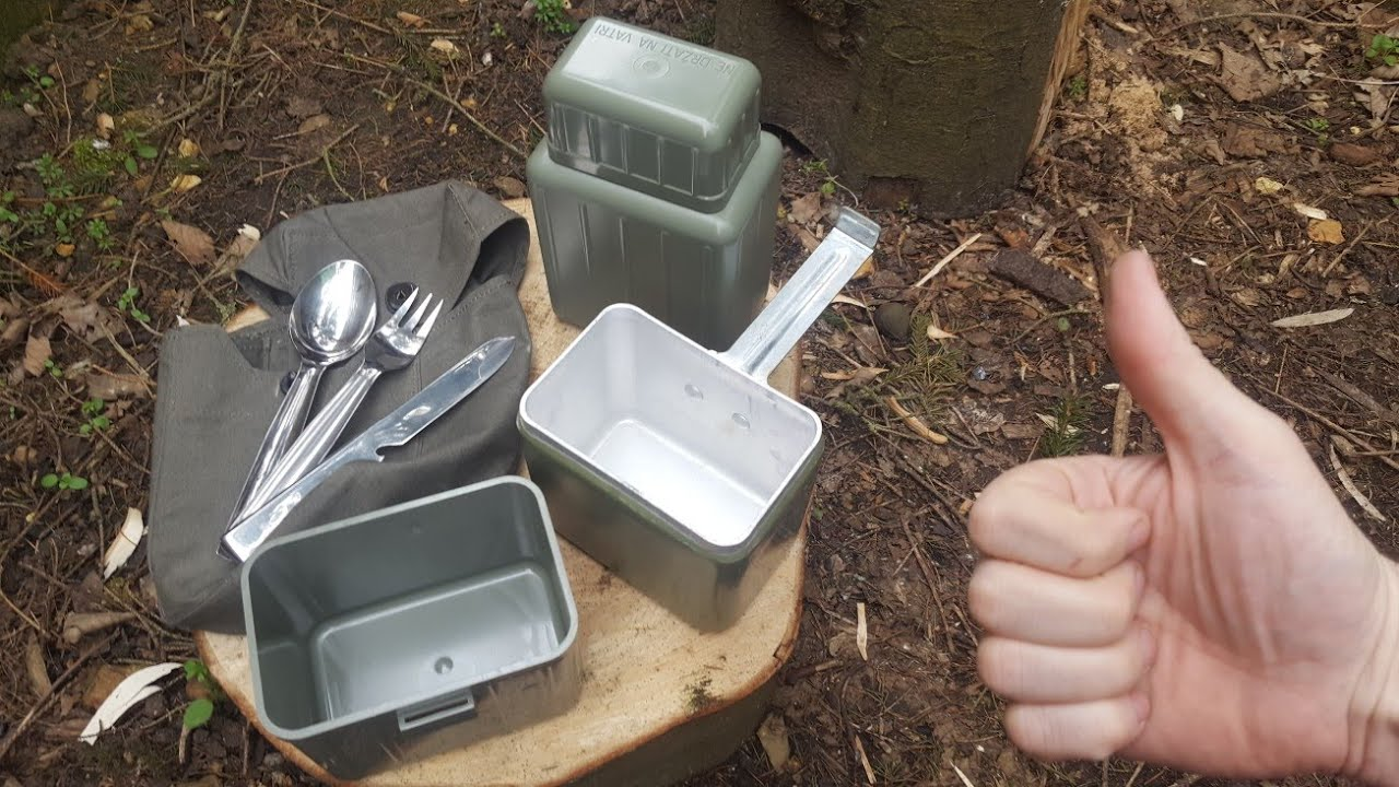 Military Surplus Mess Kit Comparison