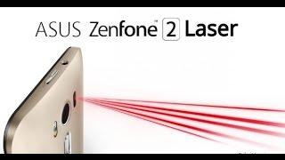 REVIEW ASUS ZENFONE 2 LASER VERMELHO - BRASIL