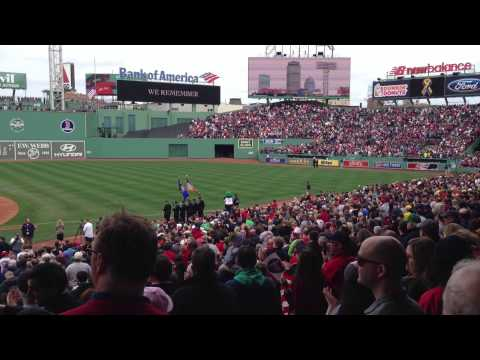 Red Sox - April 20, 2013, first game after Boston Marathon bombings