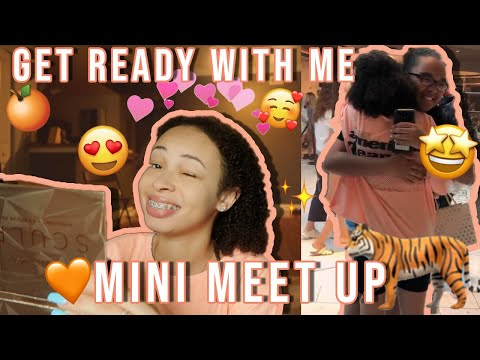 GRWM for My Meet & Greet! + Mini Vlog | aliyah simone thumbnail