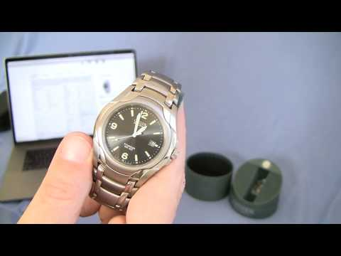 Citizen Eco-Drive Titanium BM6060-57F Watch Review and Watch Sizing