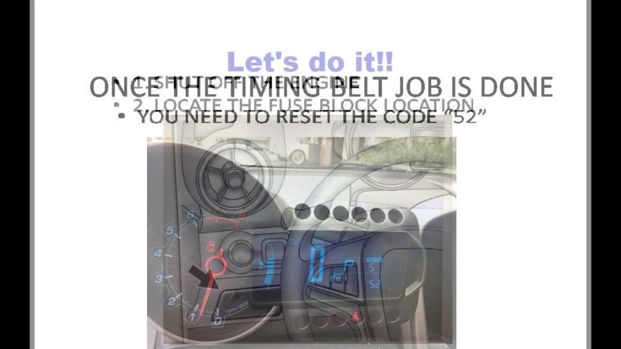 2012 chevy sonic code 82 reset
