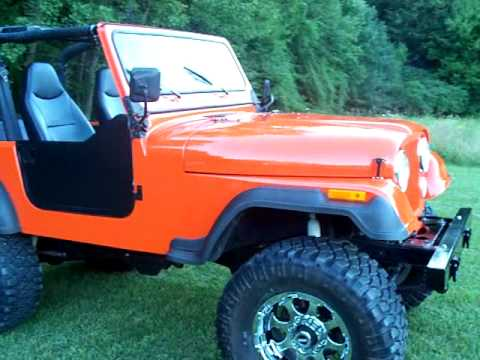 Jeep CJ7 with 400 sbc forsale on ebay - YouTube