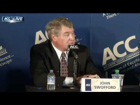 Notre Dame Joins the ACC: Press Conference