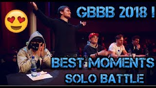 GRAND BEATBOX BATTLE 2018 ! BEST MOMENTS ( SOLO)