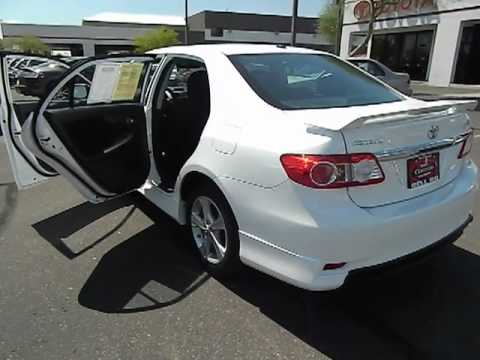 2012 Toyota Corolla S Sedan 4d Phoenix Az 00520343 Youtube