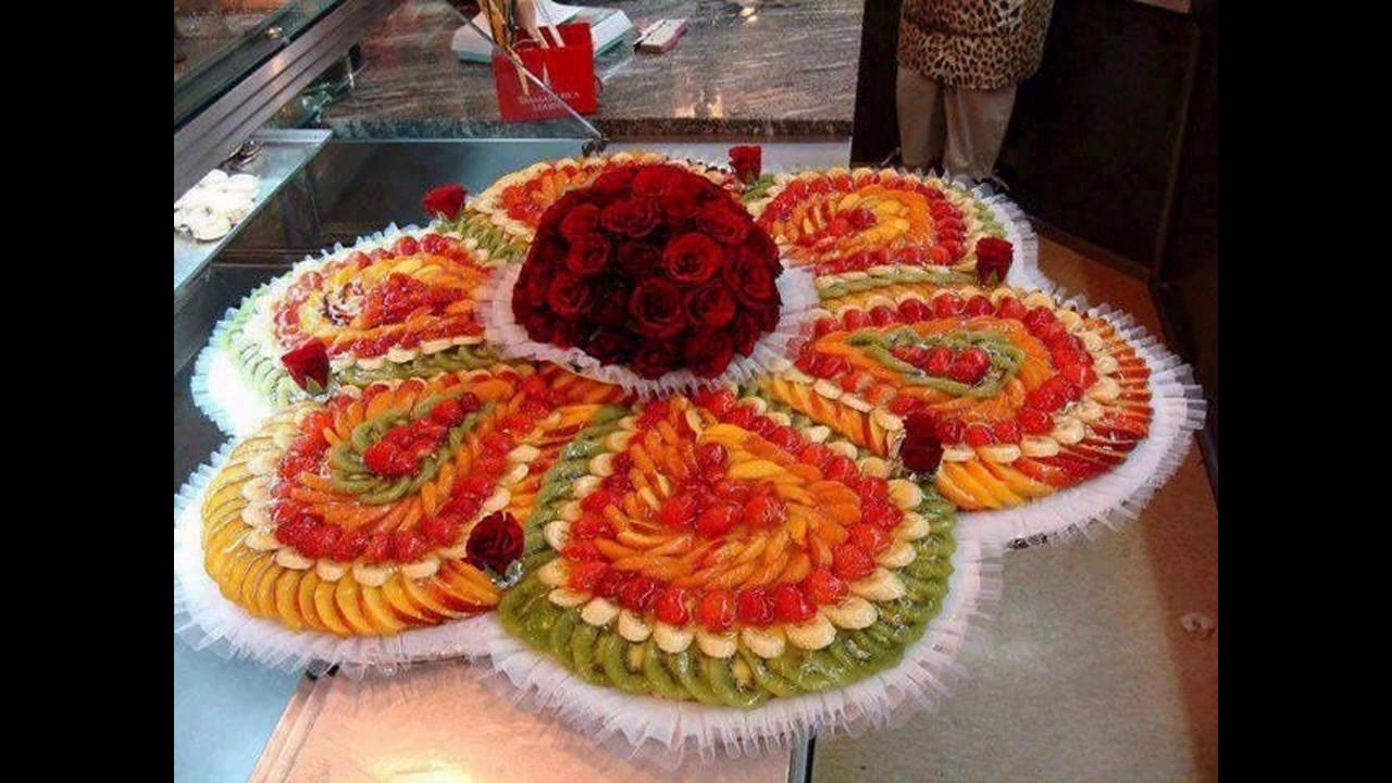 Creative Fruit Decoration For Wedding Youtube