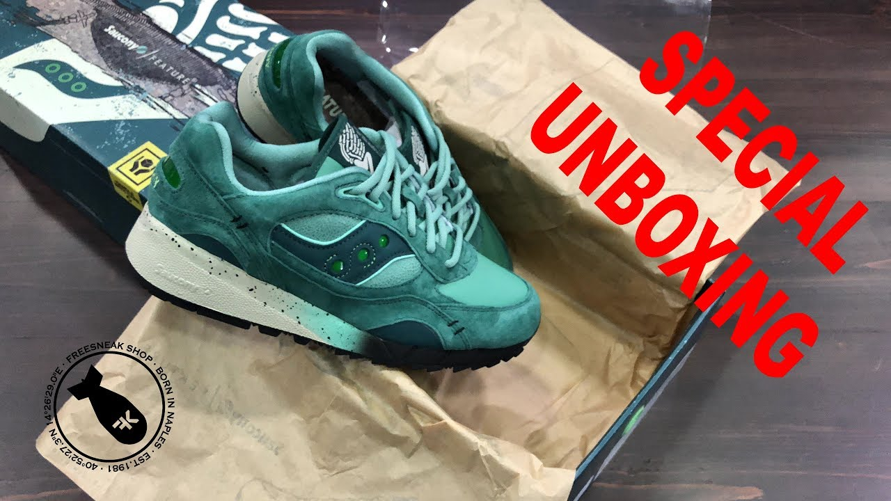 online store fc412 0287d UNBOXING FEATURE X SAUCONY SHADOW 6000
