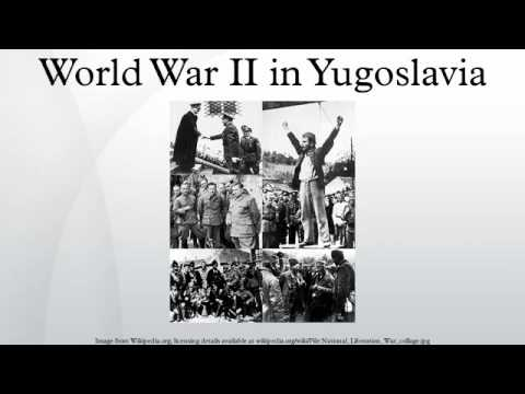 World War II in Yugoslavia