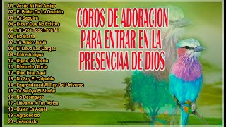 20 HERMOSAS MELODIAS DE ADORACION PARA ENTRAR A LA PRESENCIA DE DIOS
