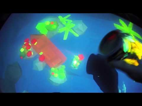Virtual Aquarium - Interactive Table