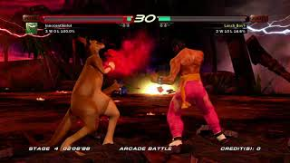 Tekken 6 (Xbox 360) Arcade Battle as Roger Jr.