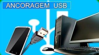 Como Ativar Ancoragem USB Android-PC