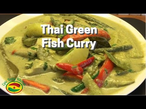 How To Make Thai Green Fish Curry | Thai Green Fish Curry Recipe | Epic Bong Kitchen