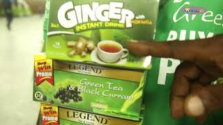 Legend tea & Herbs, Pure Green tea