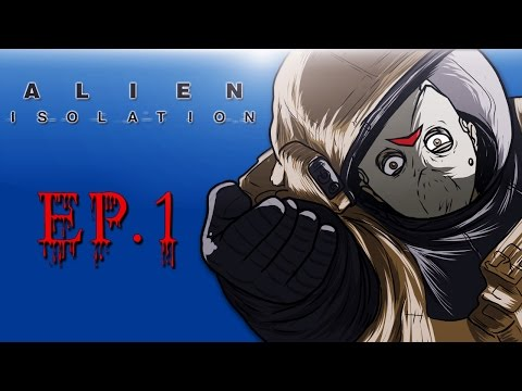 Delirious Plays Alien: Isolation Ep. 1 (Searching the ship)