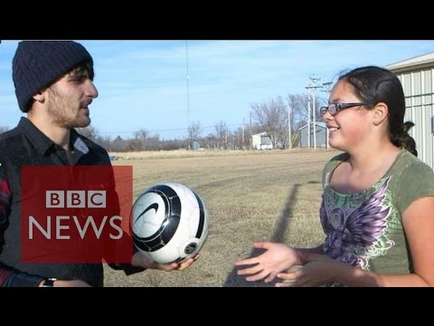 Searching for soccer on an Indian reservation - BBC News