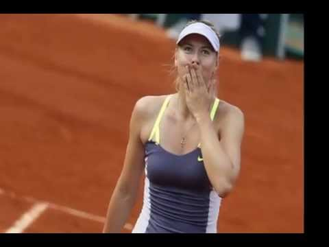 Maria Sharapova French Open Champion 07 JUNE 2014 FINAL