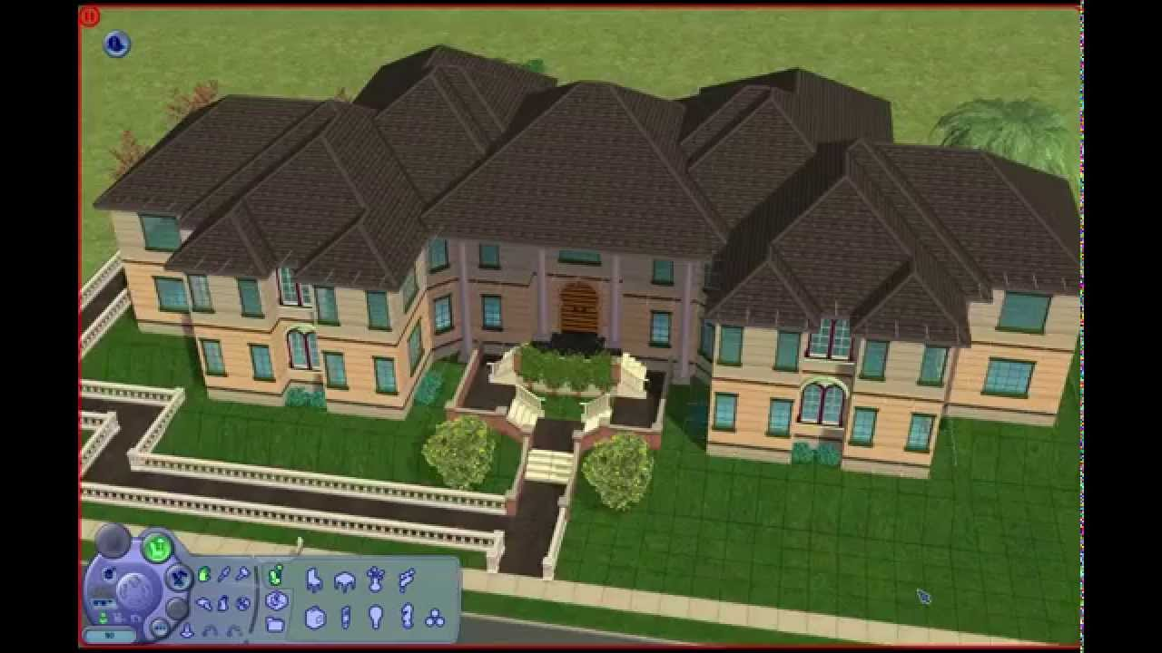 Image gallery sims 2 mansion for Awesome sims