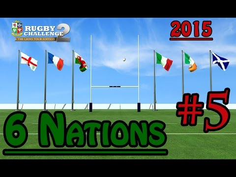Rugby Challenge 2 – 6 Nations 2015 – Round 5 – England vs France