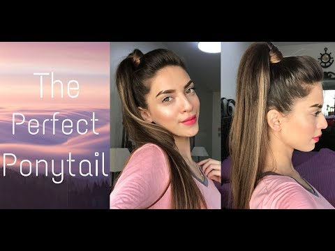 HOW TO: THE PERFECT PONYTAIL + NO BACKCOMBING | MAROOSHA'S MAKEUP