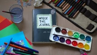 One of booksandquills's most viewed videos: Wreck This Journal.