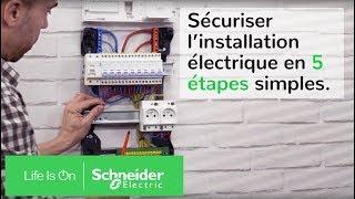 Comment sécuriser l'installation électrique en 5 étapes simples | Schneider Electric France