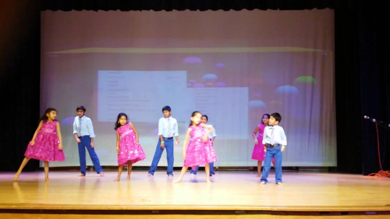 Kids Stage Performance On Telugu Night Youtube