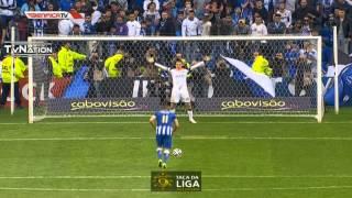 Porto 3 Vs 4 Benfica Todos os Penalties (Com Relato Antena 1) 1/2 Final Taça da Liga 2014