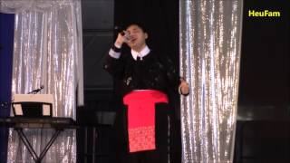 Sacramento Hmong New Year 2016 - 2017 : Singing Competition Final Round -  Kevin Hawj