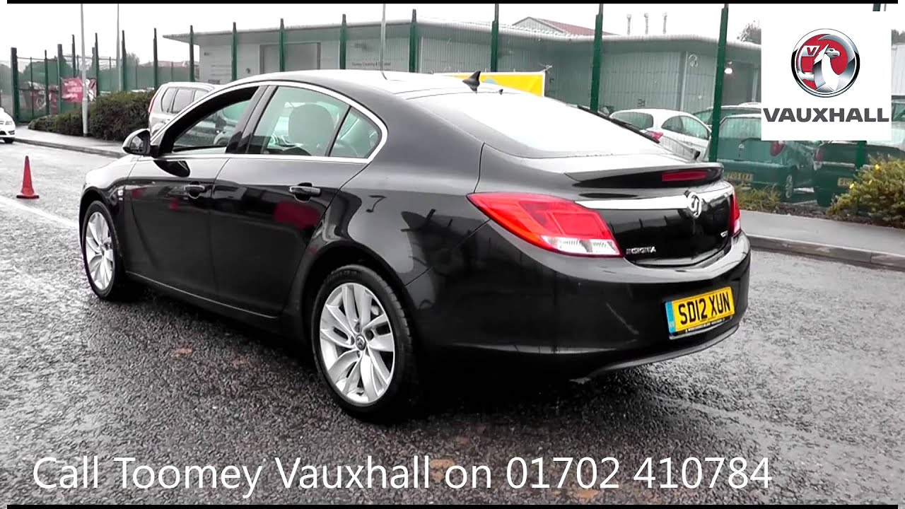 2012 vauxhall insignia sri 2l black sd12xun at toomeys vauxhall southend youtube. Black Bedroom Furniture Sets. Home Design Ideas