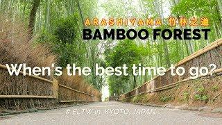 ARASHIYAMA Bamboo Forest      Japan Travel Guide Series 2018  🇯🇵   (Kyoto)