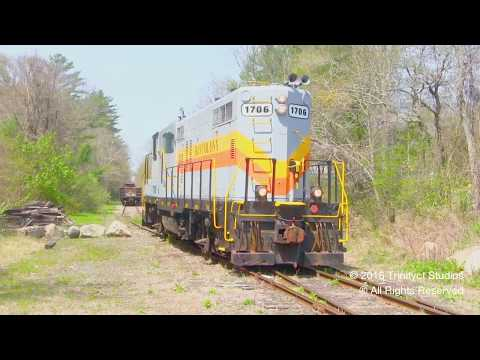 Shortline Mania!!! Bay Colony, Mass Coastal, & Fore River Railroad In ONE DAY!!!!