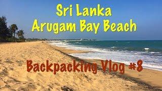 Sri Lanka - Arugam Bay Beach - Vlog #8
