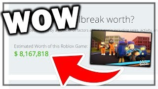 HOW MUCH ARE ROBLOX GAMES WORTH? JAILBREAK,BLOXBURG,ARSENAL, AND MORE! (ROBLOX)