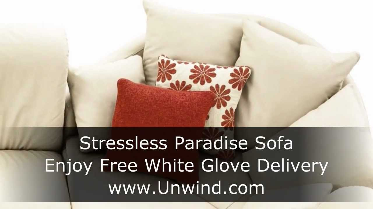 stressless paradise sofa low back collection youtube. Black Bedroom Furniture Sets. Home Design Ideas