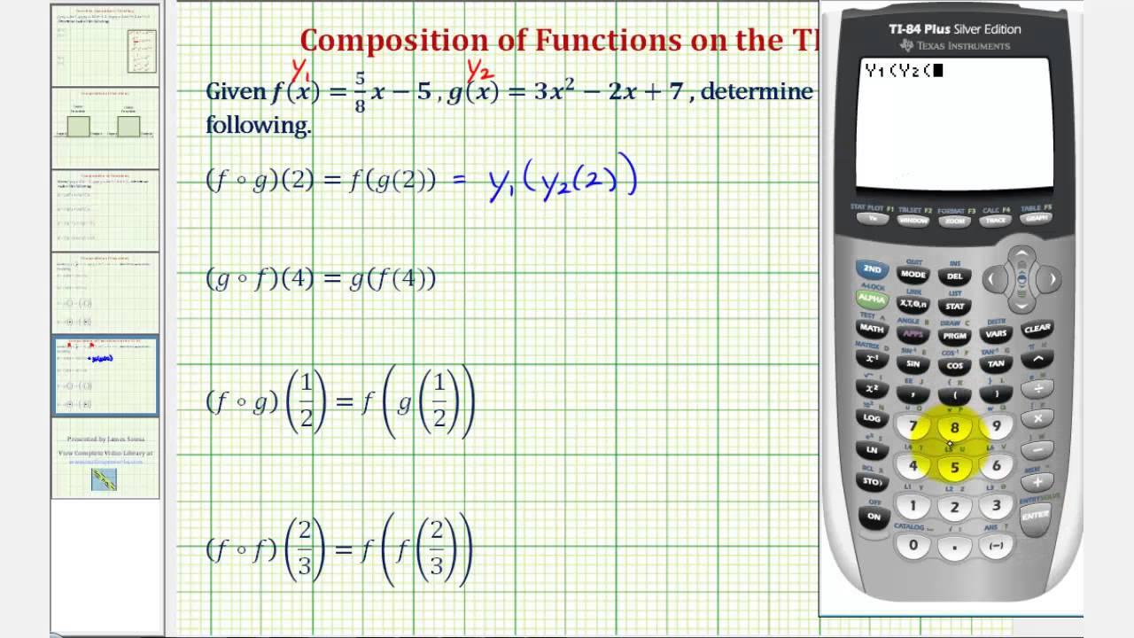 Composite function solver math composite function calculator.