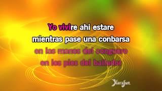 Karaoke Yo vivire - Celia Cruz *